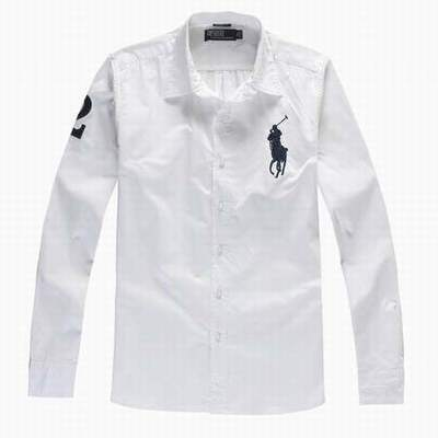 chemise ralph lauren manche courte blanche chemise blanche. Black Bedroom Furniture Sets. Home Design Ideas
