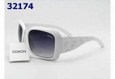 25fadeff8a5 lunettes coach homme cuir