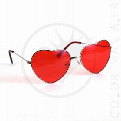 93e0159759817 lunettes rouges rondes